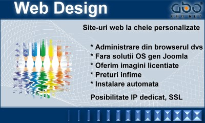 Web Design AUTOMATIC Web hosting romania .ro .com